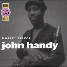 MOSAIC SELECT: JOHN HANDY [BOX] BY JOHN HANDY (CD, OCT-2009, 3 DISCS, MOSAIC...