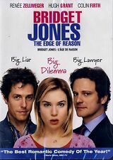 NEW DVD Bridget Jones: Edge of Reason // Colin Firth,Hugh Grant, Renée Zellweger
