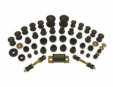 Prothane 63-82 Chevrolet C2 C3 Corvette Complete Suspension Bushing Kit (BLACK)