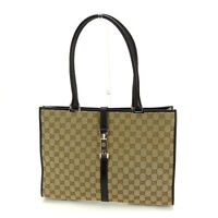 Gucci Shoulder bag GG canvas Brown Brown Woman Authentic Used Y4456