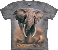The Mountain Unisex Adult African Elephant Animal T Shirt X-large 1059593