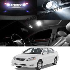 For 03-08 Toyota Corolla S XRS Interior Xenon White LED Reverse Bulb Light 10pcs