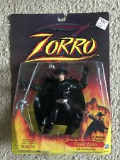 Zorro Action Figures Playmates 1999 (Lot Of 9)