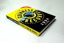 The Guinness Book of Records Year 1994 Very Good Condition