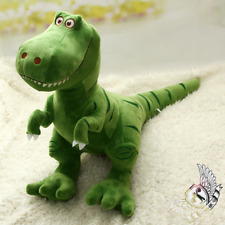 Dinosaur Plush Toy Cute Dino T Rex Stuffed Animal Green 45 cm