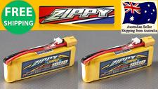 2 Pack ZIPPY COMPACT 1800mAh 2S 25C 7.4v XT60 LIPO Battery RC Plane Drones Heli