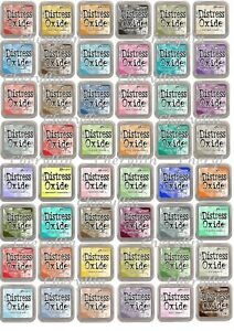 Ranger Tim Holtz Distress Oxide Ink Pads FULL RANGE Colours - FREE P&P - CHOOSE