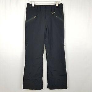 Oakley Recco Black Snowboarding Ski Pants Sz Small Regular Fit Adjustable Waist