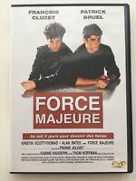 DVD °°FORCE MAJEURE°° François Cluzet - Patrick Bruel