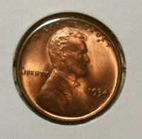 1934 Lincoln cent - premium uncirculated - UNC wheat penny 1934