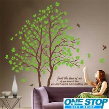 Home Decoration DIY JUST THE TWO OF US COUPLE FAMILY Wall Decal 2PC Wallpaper