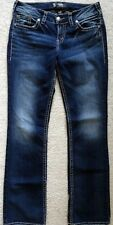 BKE Suki womens mid slim bootcut jeans 29x33