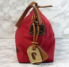 Dooney & Bourke Red Nylon Pouchette Handbag (AP 493 )