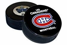 Montreal Canadiens Basic Logo NHL Hockey Puck Bottle Opener