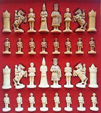 JEU D'ECHECS Moyen-age vers 1960  / chess set c. 1960