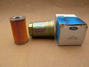 NOS Ford Fuel Sediment Bowl and Filter - P/N: C3AZ-9355-A