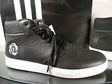 Men's Adidas LAKESHORE MID  Basketball Hi Tops Black US Size 10 EUR 44