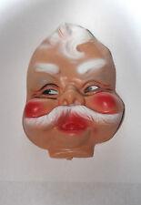 Flat Vintage Santa Doll  Head