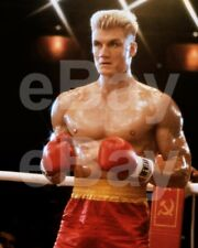 Rocky IV (1985) Dolph Lundgren 10x8 Photo