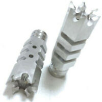 1/2-28 8/5-24 Thread Stainless Steel Muzzle Brake With Free Crush For .223 .308
