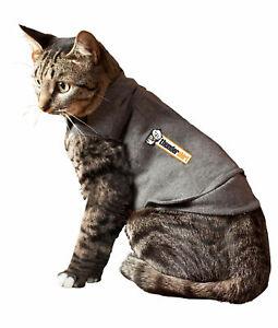 Thundershirt T02-HGM for Cat Anxiety - Gray, Medium