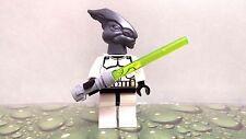 NEW Lego Star Wars JEDI MASTER COLEMAN TREBOR CLONE GENERAL OUTFIT MINIFIGURE