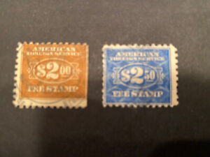 US Stamps-SC# Rk28 & 29- Foreign Service - Used  - CV $128.00