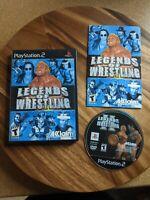 Legends of Wrestling CIB & TESTED (Sony PlayStation 2, 2001)