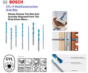 Bosch Multi Construction Material Drill Bit Masonry Concrete Wood Drill Bit Tile