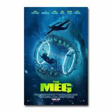 The Meg Movie 32 Print Art Silk Poster