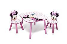 Disney - Set tavolo con 2 sedie per Bambini Minnie Mousedelta Childrenb00ajmnmp4