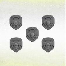 Legion Kreuz Schilde Legionary Cross Pattern Shields (5) Bitz Kromlech Resin
