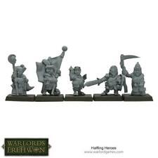 Warlord Fantasy Mini 28mm  Halfling Heroes Pack New