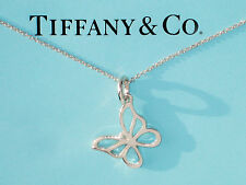TIFFANY & Co ARGENT STERLING petit Butterfly Collier