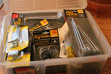 New PegBoard Hooks Mixed Lot of Many Sizes & Types 11.5 # new