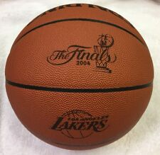 2004 Los Angeles Lakers NBA Finals Game-Used Basketball with proper stamping