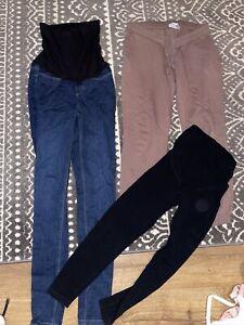 Asos Size 8 Maternity Pants  BUNDLE Used