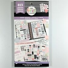 The Happy Planner Free Spirit Sticker Book Pack Of 813 Me & My Big Ideas