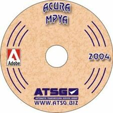 .NEW Acura Legend MPYA Transmission  Tech ATSG Manual Repair Rebuild CD ROM