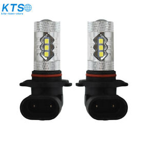 2x 80W 6000K LED Headlight Bulb For Can-Am Renegade 1000 500 800 800R