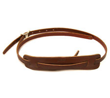 Genuine Gretsch Walnut Leather Vintage Strap for Guitar/Bass 922-0664-050