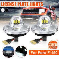 For 90-14 Ford F150 Raptor F250 F350 F450 F550 3LED License Plate Light SMD