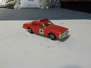 "Vintage Ertl '70s Pontiac Bonneville ""Royal Canadian Mounted Police"". 1/64. Mint"