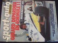 ** Revue Sport Auto n°243 Poster Ferrari 126C2 de Gilles Villeneuve