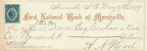 1877, FIRST NATIONAL BANK OFMORRISVILLE NEW YORK
