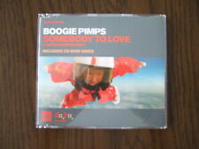 Boogie Pimps – 'Somebody To Love' Enhanced CD single (2003) - Great Condition
