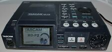 TASCAM HD-P2 PORTABLE HD STEREO AUDIO RECORDER 24 BIT / 192KHz w/ 4gb CF Ultra