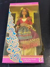 """New 1992 Italian Barbie Doll 11"""" Special Edition Dolls Of The World Mattel"""
