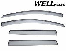 WellVisors Side Window Deflectors Visors W/ Black Trim For 10-Up Volvo XC60