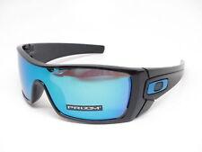 dc0cdbf6eff Oakley Batwolf Sunglasses Oo9101-5827 Polished Black Prizm Sapphire Lens  9101 58